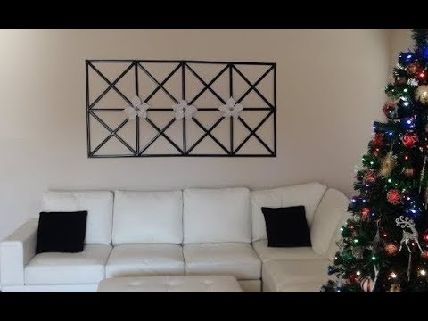 DIY: Wall Decor out of Upcycled Items