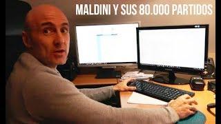 Maldini y sus 80.000 partidos como no los habías visto antes