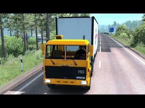 SISU M-series   Euro Truck Simulator 2   Riika - Mörbylånga