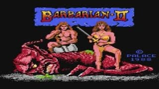Barbarian 2 gameplay (PC Game, 1989)