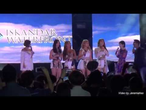 [FULL HD]Sistar at Johor Bahru Danga Bay Waterfront Carnival Concert 26/3