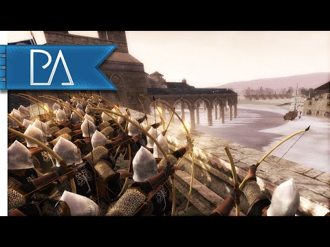 EPIC OSGILIATH SIEGE - Third Age Total War Gameplay