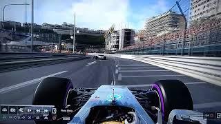 Monaco 20th to 3rd F1 2017 PS4 5 Laps