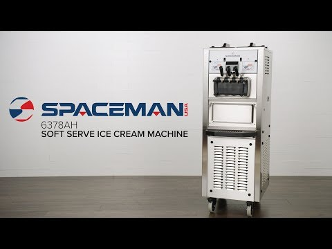 Spaceman 6378AH Dual Hopper Soft Serve Ice Cream Machine