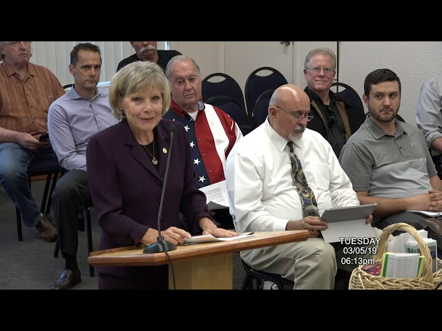 Cottonwood City Council Regular Meeting March 05 2019