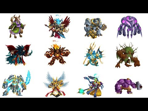 Monster Legends   How to Breed All Breed-able Legendary Monsters 2018 (UPDATED) New Legendaries