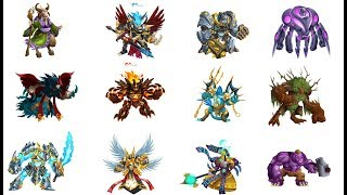 Monster Legends | How to Breed All Breed-able Legendary Monsters 2018 (UPDATED) New Legendaries