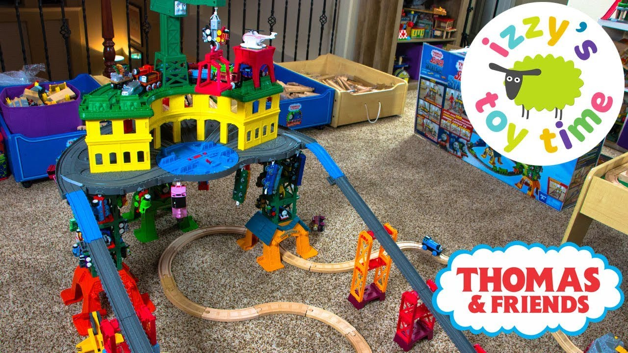 Thomas Train Super Station Thomas And Friends With Trackmaster Fun Toy Trains For Kids