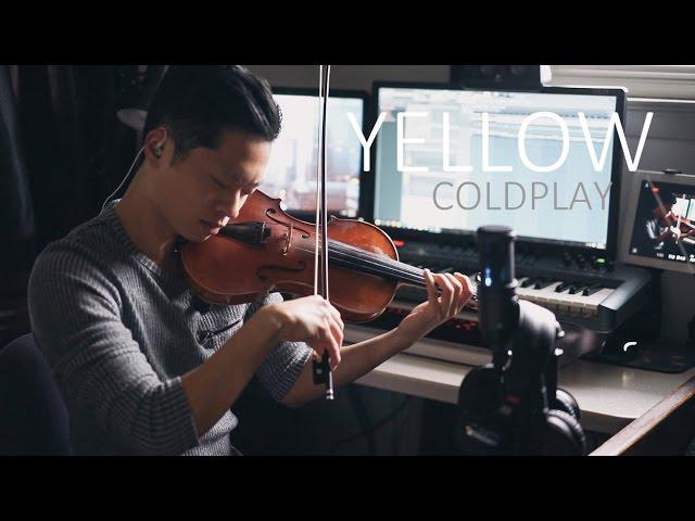 Yellow (Coldplay) - violin cover by Daniel Jang Chords
