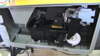HP Photosmart C5283 - замятие в каретке.(Всем привет! Второе видео из рубрики неоконченных ремонтов. Собственно, в видео всё уже сказано, тут добавит..., 2015-12-06T19:52:38.000Z)