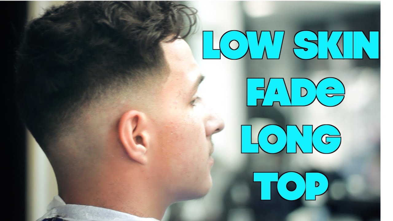 razor haircut low fade tutorial trim on top hair razor line 2268