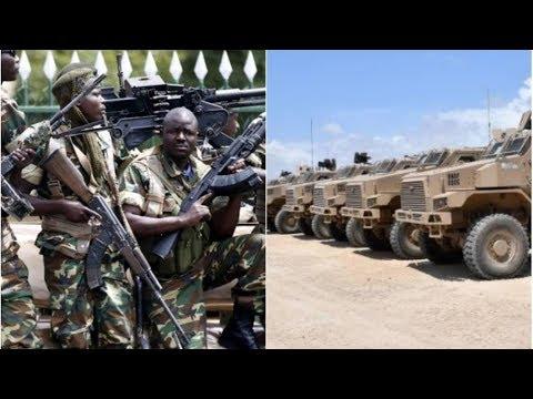 Byakomeye : U BURUNDI Bwimuriye Ibitwaro byabwo bikomeye ku mupaka w' u Rwanda