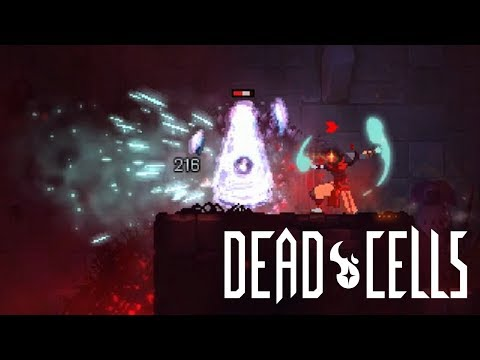 Dead Cells - Frost Blast only run (1 boss cell active)