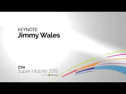 Keynote: Wikipedia's Wales: Smartphones Key to Uber's Growth