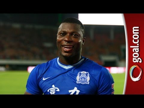 LOVELY goal from Yakubu in China!