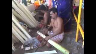 Making of vempadi madan for Panguni Uthiram Festival