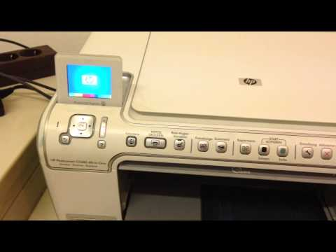 HP C5280 Photosmart Reset Tutorial [HD]