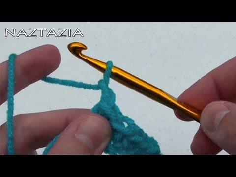 ... Easy Basics Beginner - Double Crochet Stitch DC HDC TR SLST - YouTube