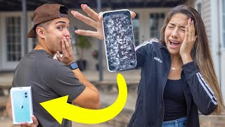 Breaking Sisters iPhone & Buying Her iPhone 11