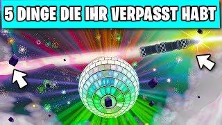 5 Dinge die du am SILVESTER Event VERPASST hast! 🎊🎉   Fortnite Season 7 Deutsch