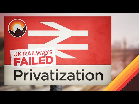 The UK's Failed Experiment in Rail Privatization
