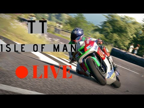 🔴 LIVE TT Isle of Man - Absolute Madness! [PT/ENG]