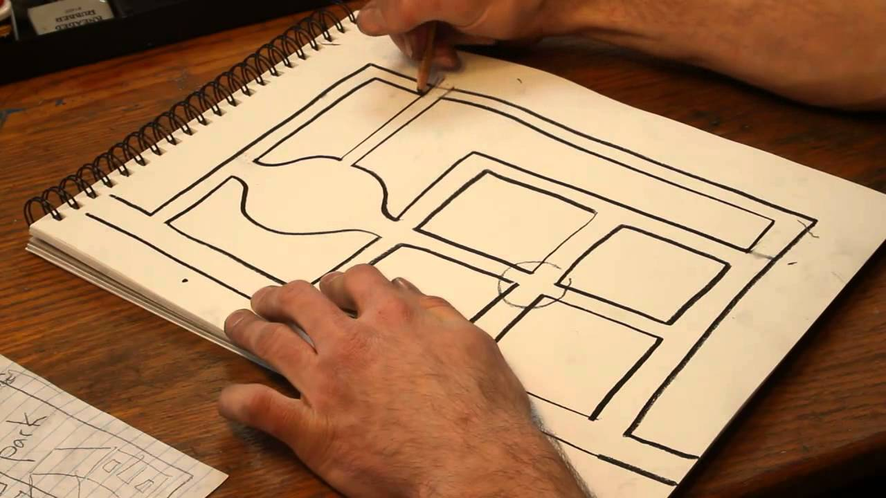 how to draw street maps youtube