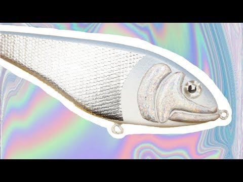 MAKE AN HOLOGRAPHIC JERKBAIT