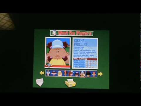Backyard Baseball - The Characters Part 1