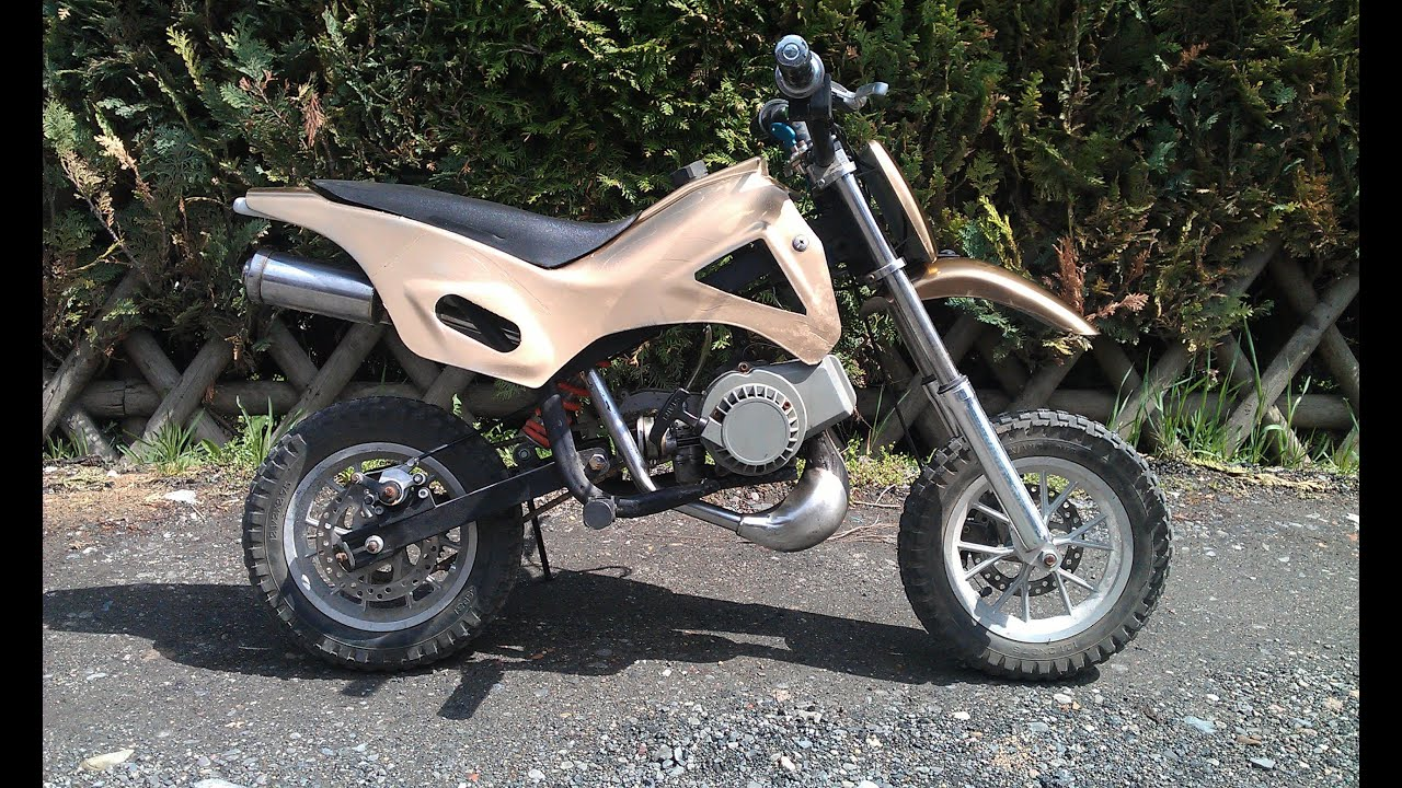 mini pocket bike moped motorrad cross pocketbike sound sondcheck youtube