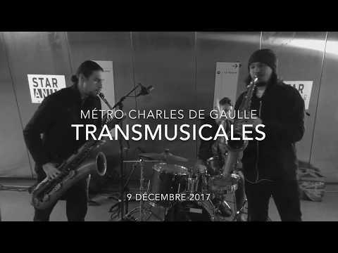 Moon hooch - number 9, live métro charles de gaulle @transmusicales 2017, rennes