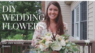 Wedding Planning | How to Make Your Own Wedding Bouquet DIY