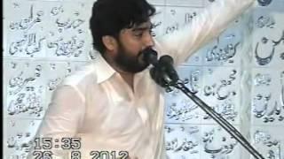 Zakir Waseem Abbas Baloch (26th August 2012) (Wapsi Madina) Kharota Syedan Sialkot