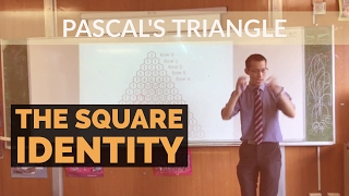 Square Identity within Pascal's Triangle