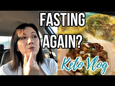 Back To Intermittent Fasting?! | Keto Vlog | Journey To Healthy