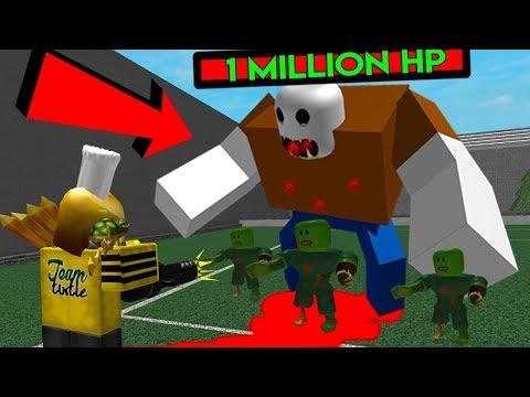 ROBLOX ZOMBIE ATTACK *HARD MODE!* INSANE BOSSES!