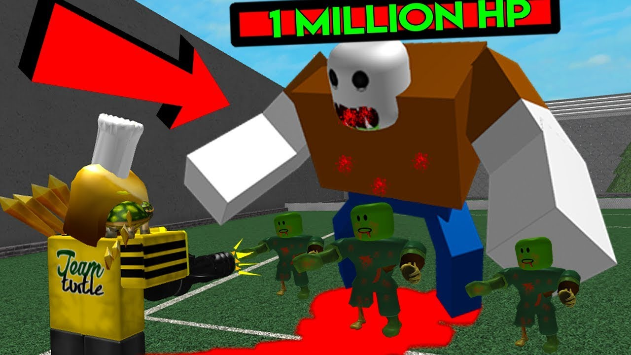 Roblox Zombie Attack Hard Mode Insane Bosses Youtube