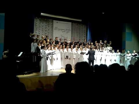 Академический хор ПетрГУ - Agnus Dei