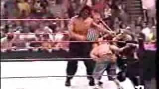 John Cena Vs Great Khali Vs Umaga hell of a fight