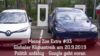 Meine Zoe Extra #93 - Globaler Klimastreik am 20.9.2019: Politik unfähig - Google geht voran