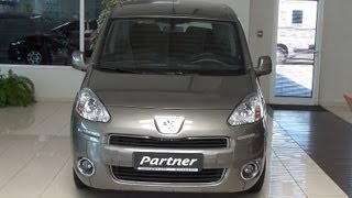 Peugeot Partner Tepee Active MPV 1.6HDI 92 Exterior and Interior in Full 3D HD