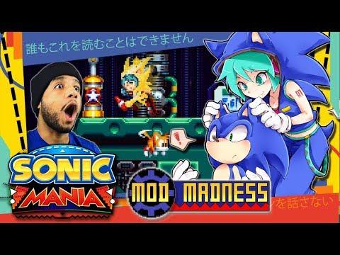 Sonic Mania PC - Hatsune Miku Mod - Mod Madness
