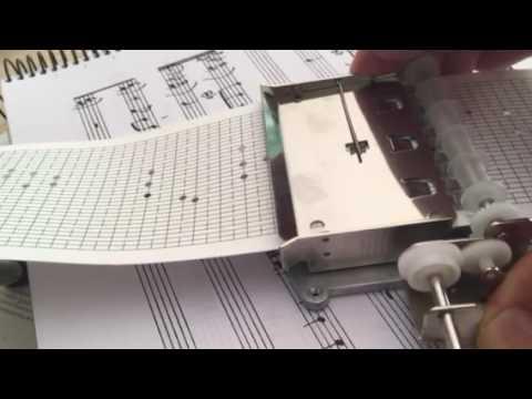 """Memory"" - Cowboy Bebop. 30 Notes Mechanism Music Box"