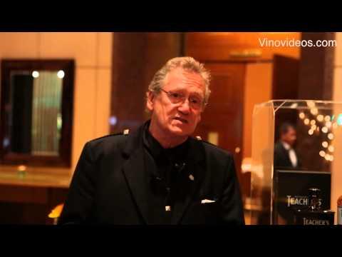 Master Blender Robert Hicks talks about  Teacher's Whisky and Laphroaig Single Malt