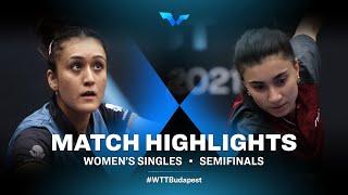 Manika Batra vs Elizabet Abraamian | WTT Contender Budapest 2021 (1/2)