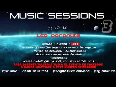 Dark Minimal dj set by Leo Dorantes @ Music Sessions #3