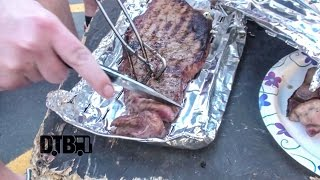 Soilwork Cook Their 'Gammel Dansk Infused Steak Majestic' - COOKING AT 65MPH Ep. 11