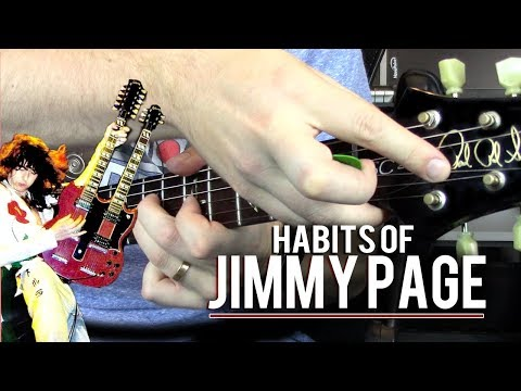 Habits of Jimmy Page