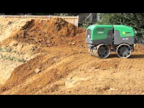 Remote Controlled Soil Compactor Arlington Passive House