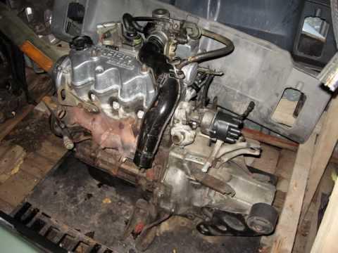 Nissan E15ET Engine Project - YouTube